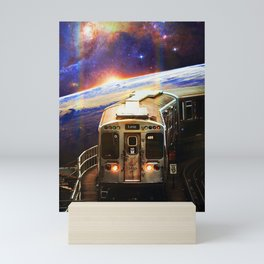 Cosmic Passengers Mini Art Print