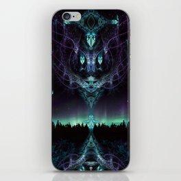 Midnight Aura - Fractal Manipulation - Manafold Art iPhone Skin