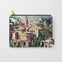 Rome architecture Carry-All Pouch