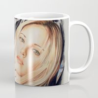 buffy the vampire slayer Mugs featuring Buffy - The Vampire Slayer by ChiaraG27