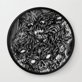 Tormented Hell Wall Clock
