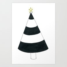 Cone Tree Art Print