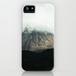 Shrouded in mystery iPhone Case