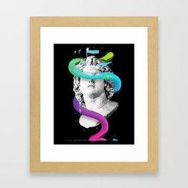 Worm Framed Art Print