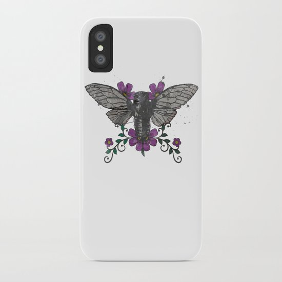 Seventeen Year Locust iPhone Case