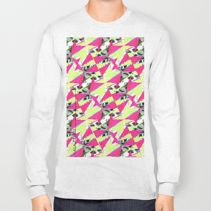 Colorful Triangles. Long Sleeve T-shirt