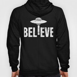 BELIEVE | UFO Alien Abduction Hoody