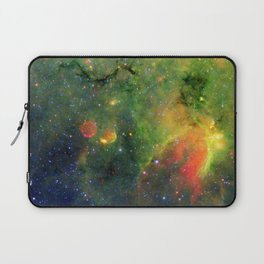 Galactic Snake in Infrared Milky Way Laptop Sleeve