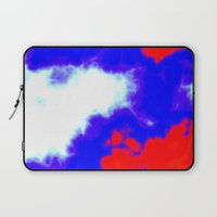 patriotic Laptop Sleeves featuring Patriotic Sky by Christy Leigh