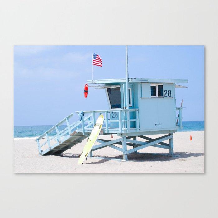 Tower 28, Santa Monica, CA Canvas Print