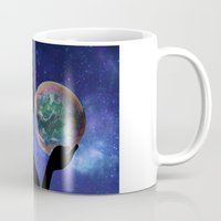 bubble Mugs featuring Bubble by Cs025