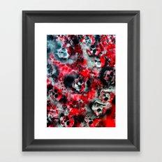 Fyre Framed Art Print