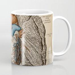 Vintage anatomy illustration Coffee Mug