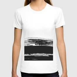 abstract b&w T-shirt