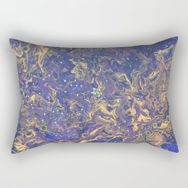 Night Magic Rectangular Pillow
