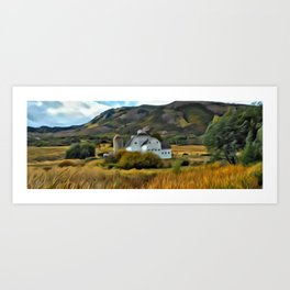 The Farm in Fall by Leslie Harlow Art Print