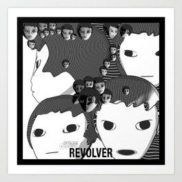 Revolver Art Print