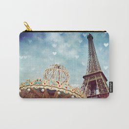 Carnival Paris -The Eiffel Tower & The Carousel  Carry-All Pouch