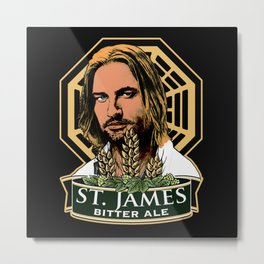 St. James Bitter Ale Metal Print
