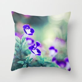 Summer Sisters Throw Pillow