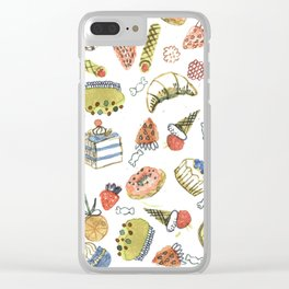 sweets Clear iPhone Case