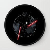 sith Wall Clocks featuring Sith Uprising by Steven Toang