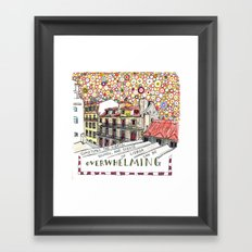overwhelming Framed Art Print
