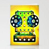 dj Stationery Cards featuring DJ by Yukska
