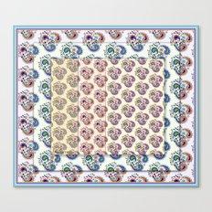 Paisley pattern Canvas Print