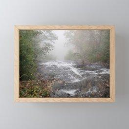 Amicalola Falls in a Mist Framed Mini Art Print