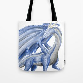Blue Dragon Tote Bag