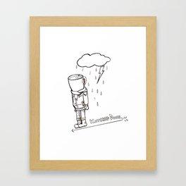Coffee Bloke Framed Art Print