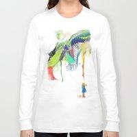 archan nair Long Sleeve T-shirts featuring Azalia by Archan Nair