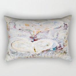 winter Hearts-2 Rectangular Pillow