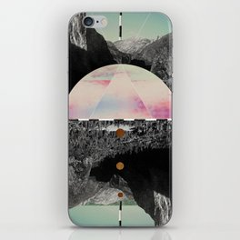 Candy Floss Skies iPhone Skin