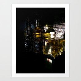 Light and Dark in the Kitchen Art Print