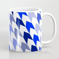 arrows Mugs featuring arrows by haroulita