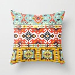 Modern Native American Pattern 4 Throw Pillow