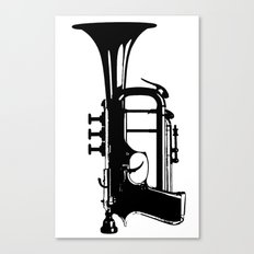 testTrumpet Canvas Print