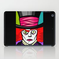 mad hatter iPad Cases featuring Mad Hatter by Artistic Dyslexia