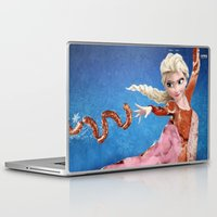 meat Laptop & iPad Skins featuring Meat Elsa by cutiepie9ccr
