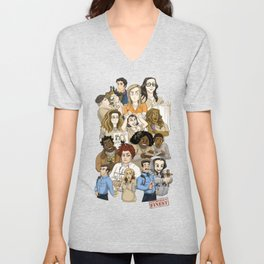 OITNB Nicky and Morello Unisex V-Neck