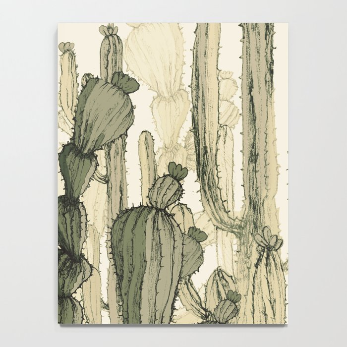 drawing cactus Notebook
