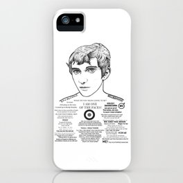 Jimmy - 'I am one of the faces' iPhone Case
