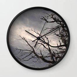 Charred Wall Clock