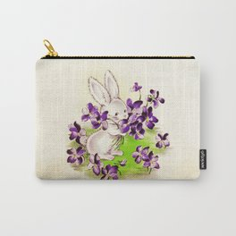 Lilac the Easter Bunny Carry-All Pouch