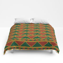 Africa-inspired pattern Comforters
