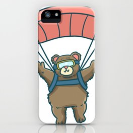 Skydiving Parachute Gift Sky Jump iPhone Case
