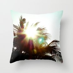 Against Throw Pillow