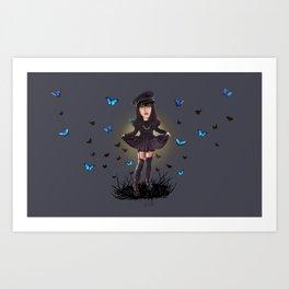 Surreal doll 2 Art Print